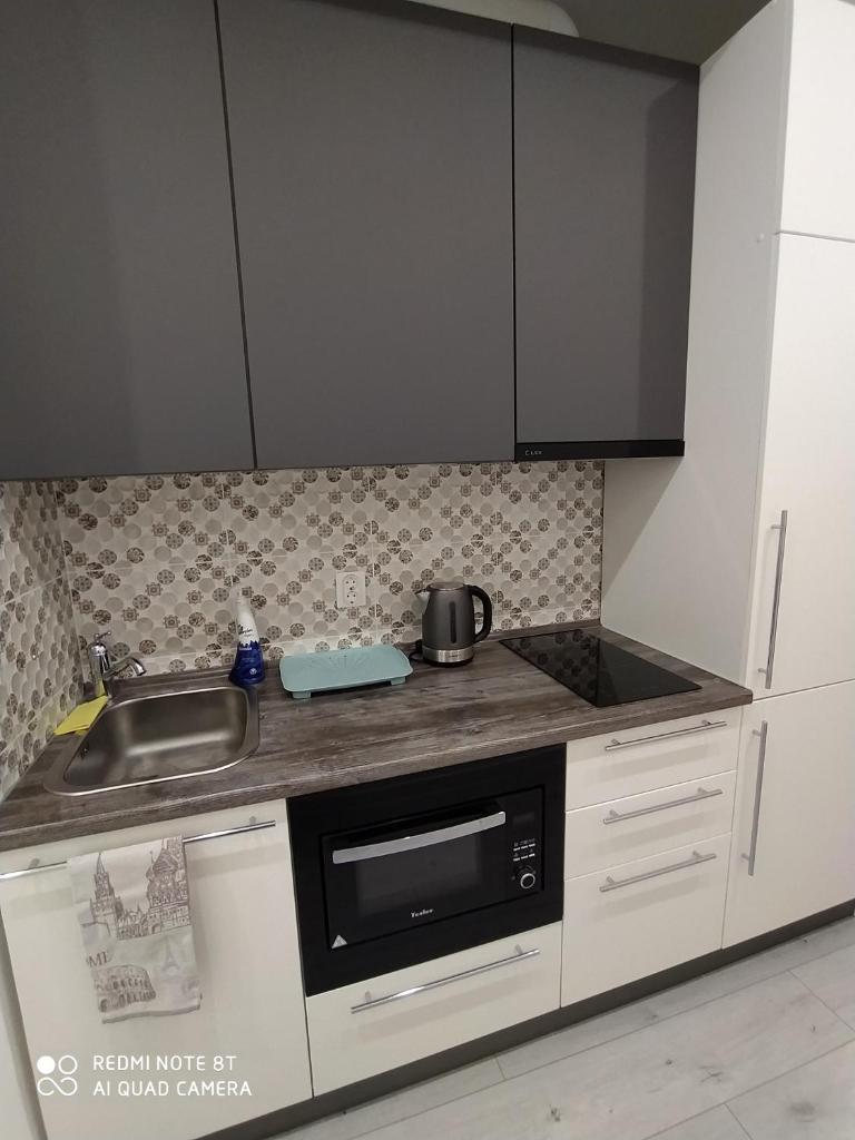 Апартаменты/квартира  Новая квартира, метро Аметьево 2мин, центр 5 мин.  - отзывы Booking