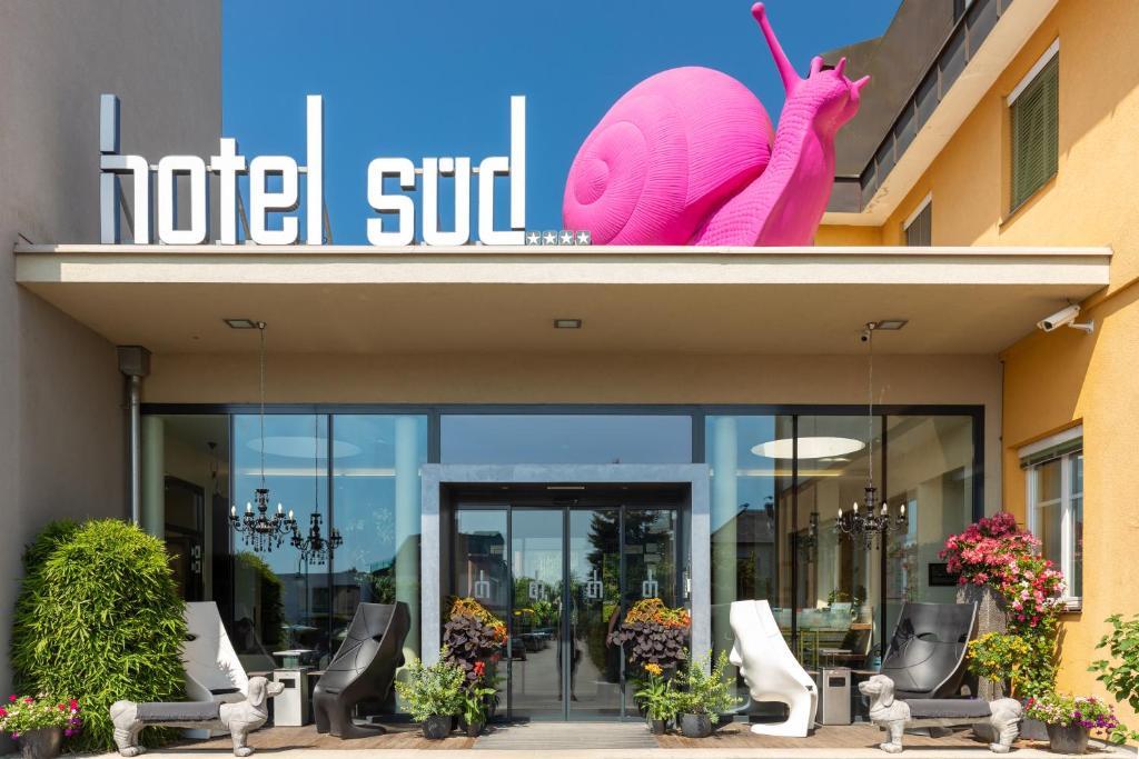 Отель  Отель  Hotel Süd Art