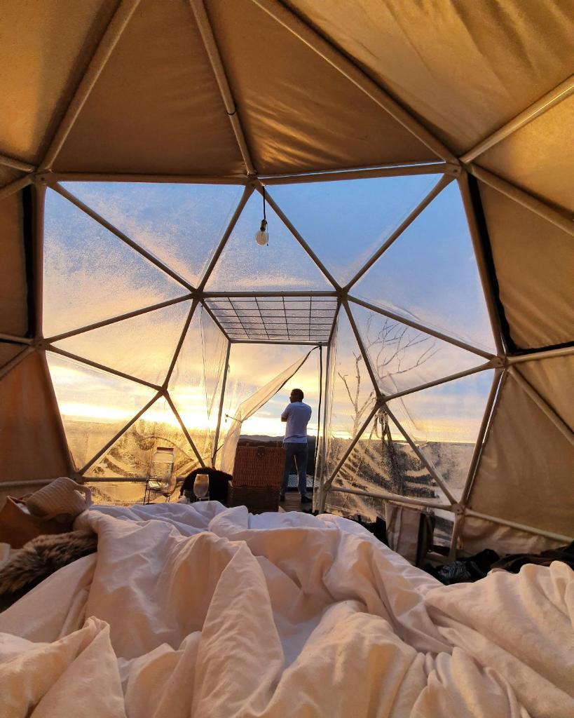 Фото  Люкс-шатер  Glamping La Montaña Sagrada