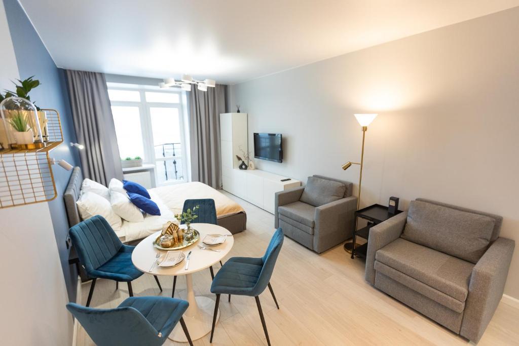 Апартаменты/квартира  Begovaya Live рядом с Лахта-центром и стадионом Зенит  - отзывы Booking