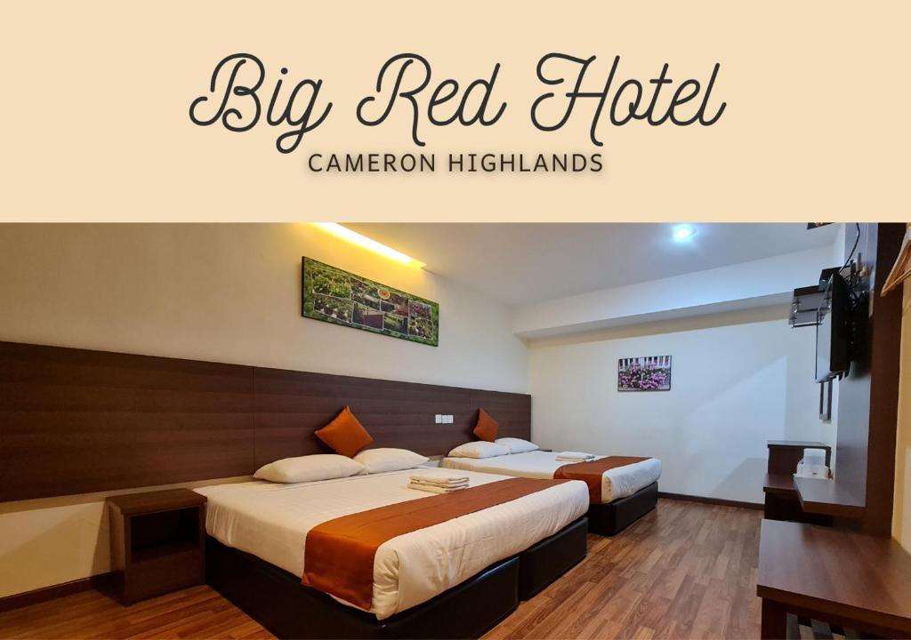 Отель Big Red Hotel