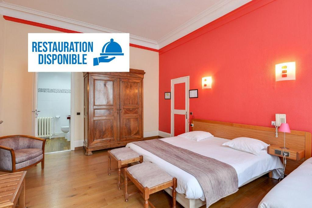 Отель  Brit Hotel Notre Dame  - отзывы Booking