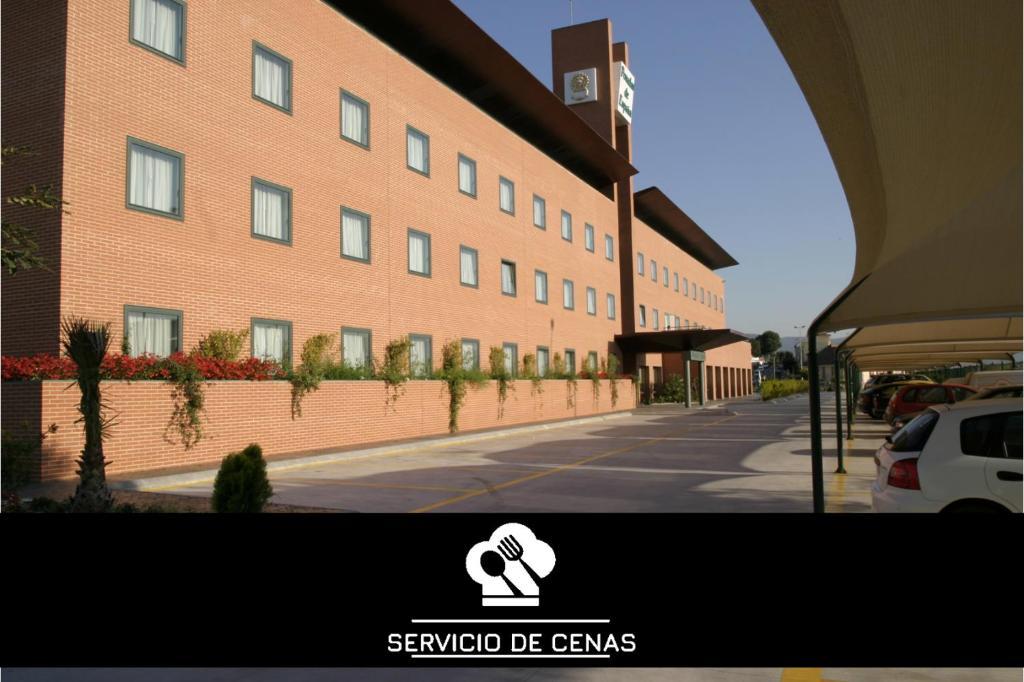 Отель  Отель  Posadas De España Malaga