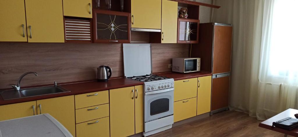 Апартаменты/квартира Уютная 2-хкомнатная Губкина 17Б - отзывы Booking