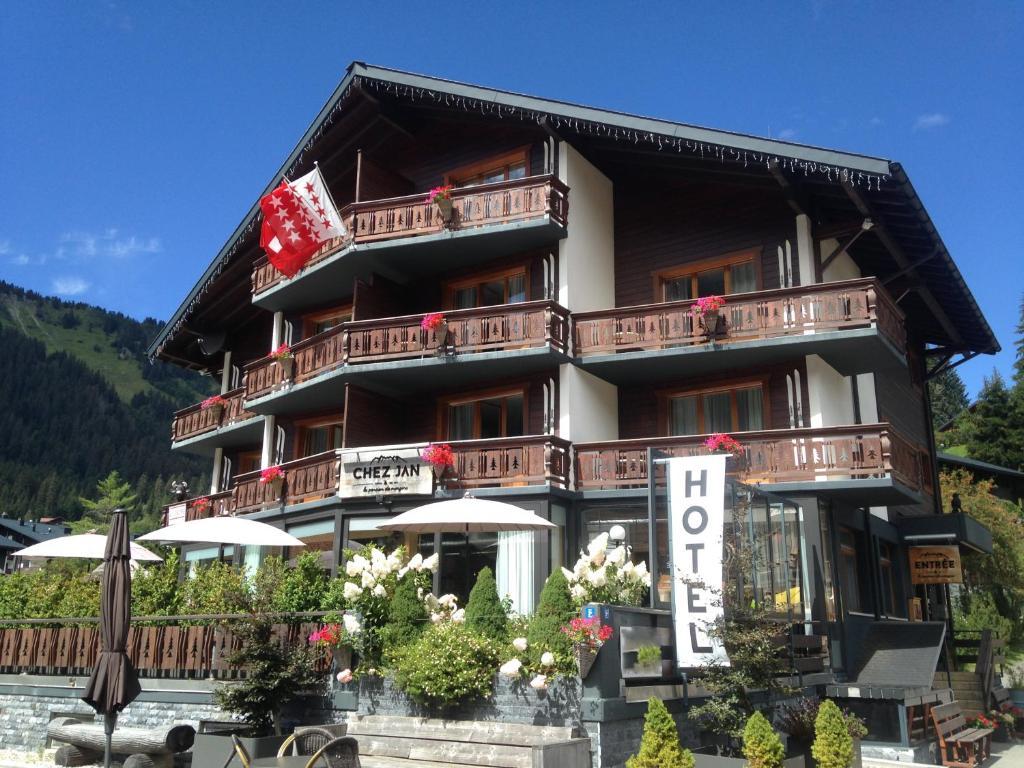 Отель  Boutique-Hôtel Chez Jan  - отзывы Booking