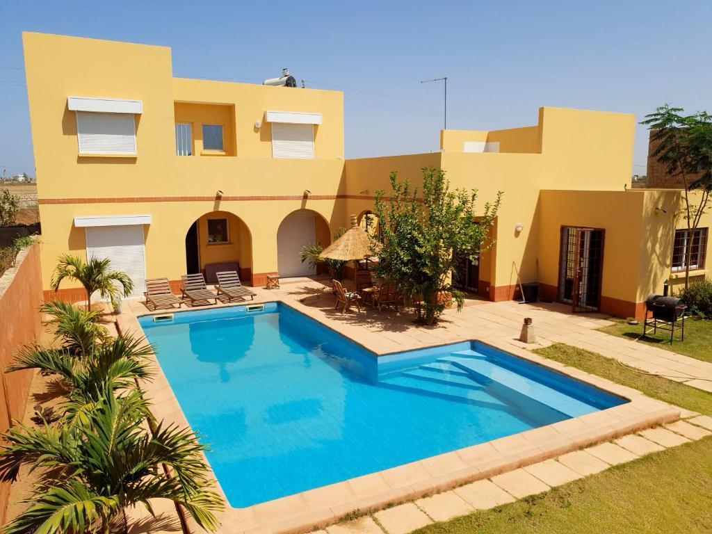 Вилла Magnifique Villa Riad Avec Piscine Proche Plage