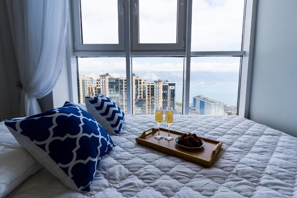 Апартаменты/квартира Sea View Apartments c Панорамным видом на Море и Бухту в районе Hilton - отзывы Booking