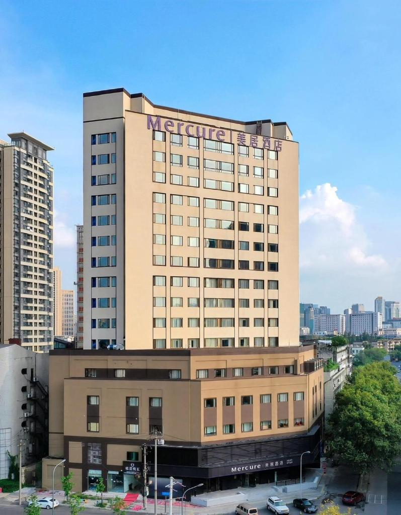 Отель  Отель  Mercure Chengdu Jinniu Wanda Plaza