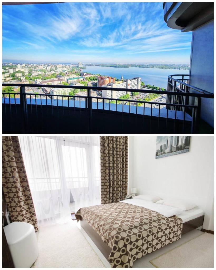 Отель  Отель  SkyTech Most City Hotel 19 Floor PANORAMIC VIEW