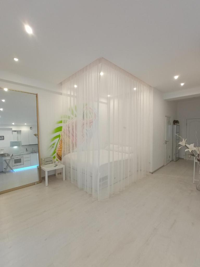 Апартаменты/квартира Просторные современные аппартаменты на Курортном проспекте 55 м2 - отзывы Booking