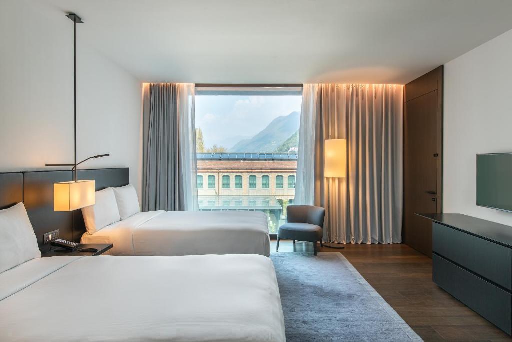 Отель  Hilton Lake Como  - отзывы Booking
