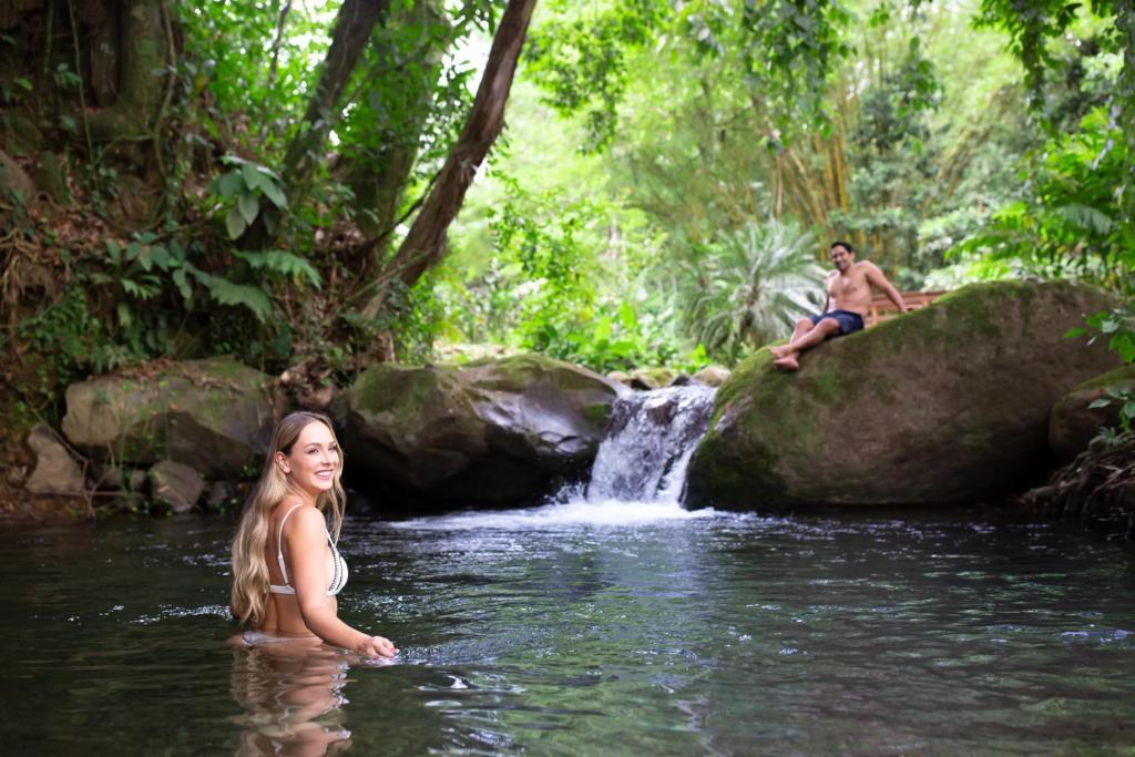 Отель Отель Chachagua Rainforest Hotel & Hot Springs
