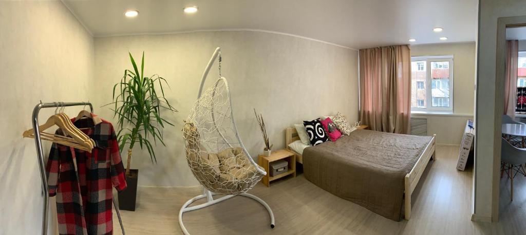 Апартаменты/квартира Студия на Силуэте (Siluet Appart)