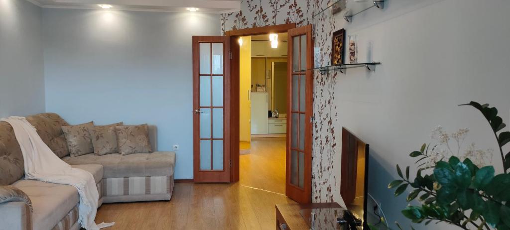Апартаменты/квартира  Двухкомнатная квартира в тихом центре  - отзывы Booking
