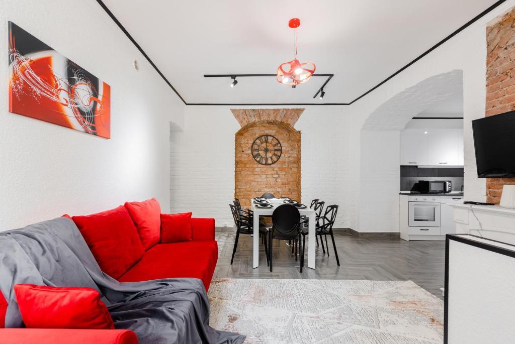 Апартаменты/квартиры  St-Isaak Lux Apart 4 bedrooms & 2 bathrooms  - отзывы Booking