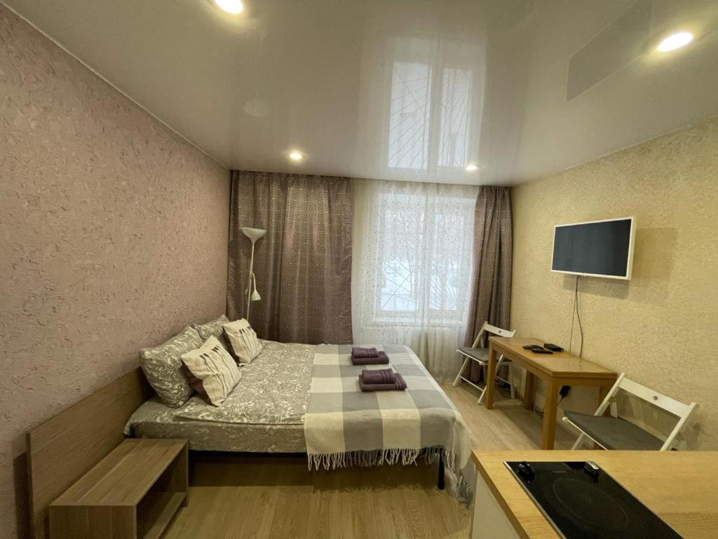 Апартаменты/квартира  Апартаменты Purple Studio у метро Каховская на Азовской 21