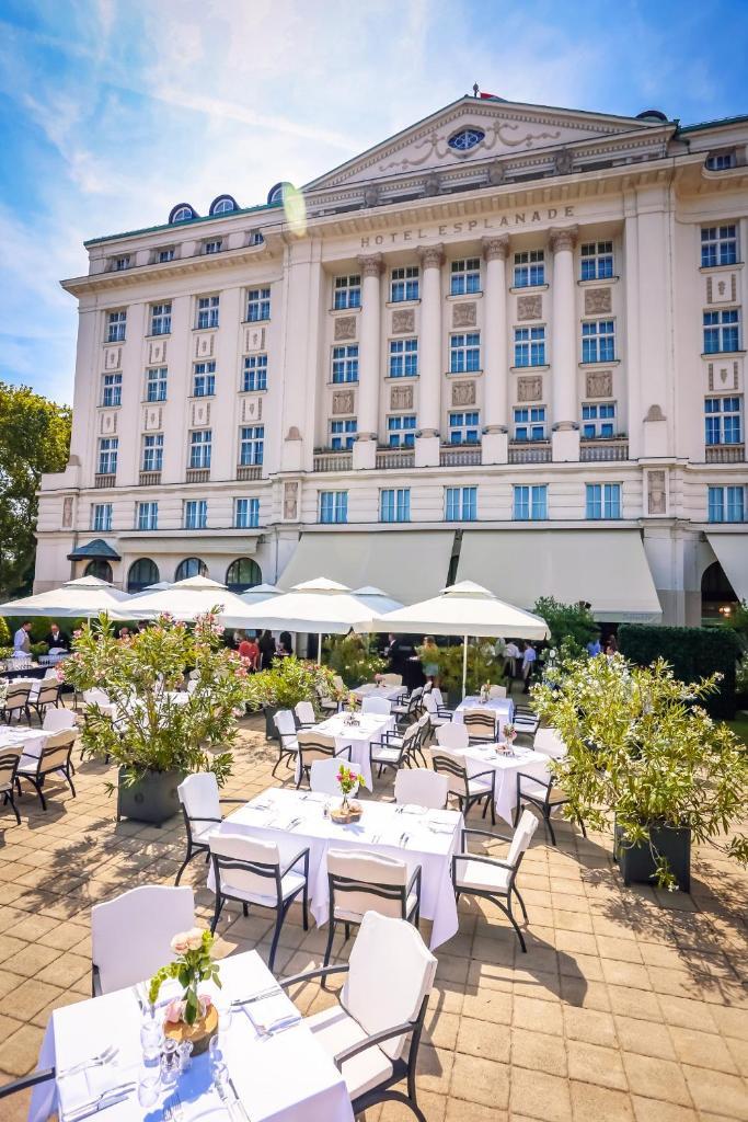 Отель Esplanade Zagreb Hotel - отзывы Booking