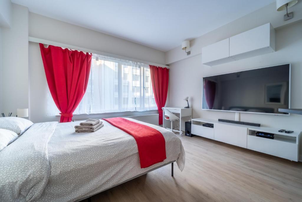 Апартаменты/квартиры  Luxury Studio In The EU Area