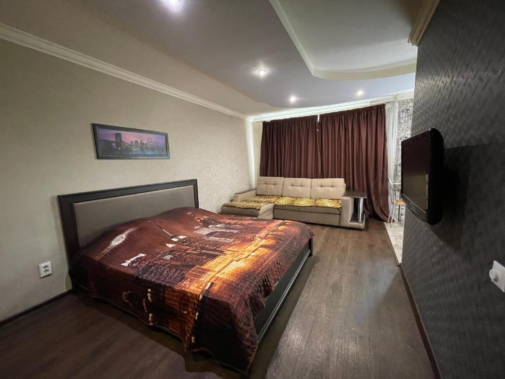 Апартаменты/квартира  Apartment Rybinskaya 49A  - отзывы Booking