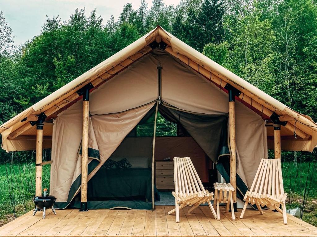 Люкс-шатер Lamp Camp Карелия - отзывы Booking