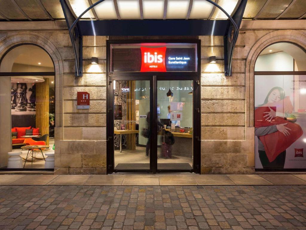 Отель Отель Ibis Bordeaux Centre Gare Saint Jean Euratlantique