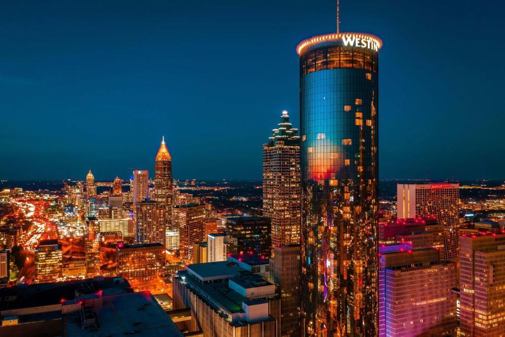Отель  Отель  The Westin Peachtree Plaza, Atlanta