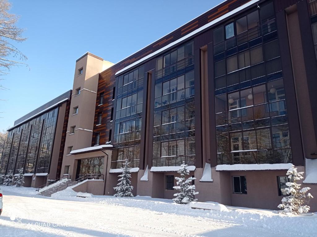 Апартаменты/квартира  Квартира двухкомнатная на банном курорт Родина  - отзывы Booking