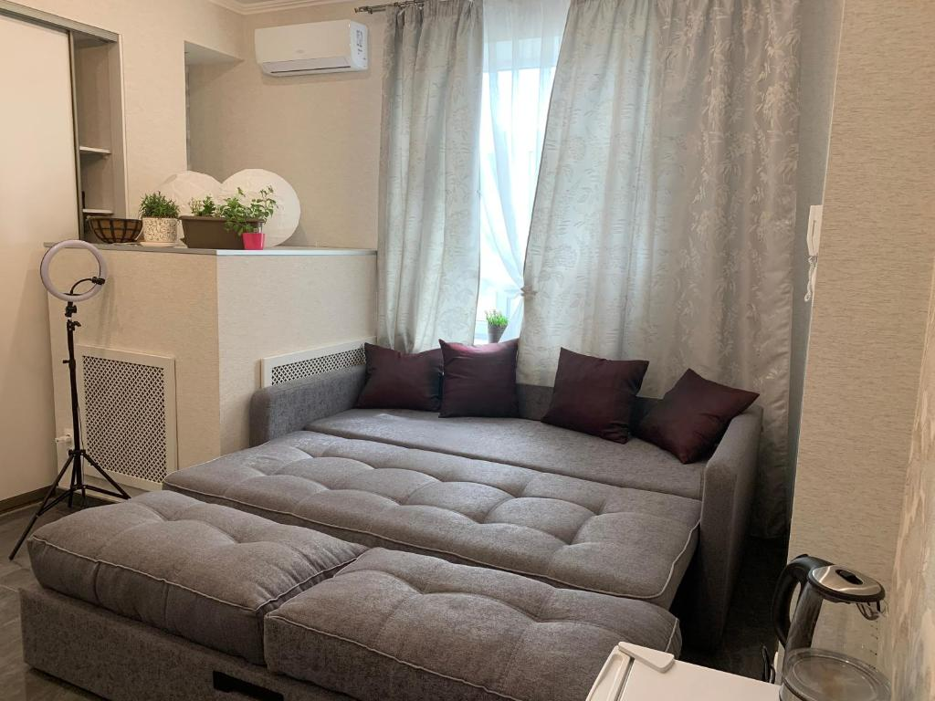 Апартаменты/квартира  Новая министудия в Экопарке  - отзывы Booking