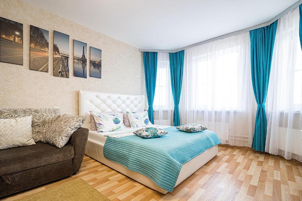 Апартаменты/квартира Двухкомнатные комфортные апартаменты на берегу р. Волга - отзывы Booking