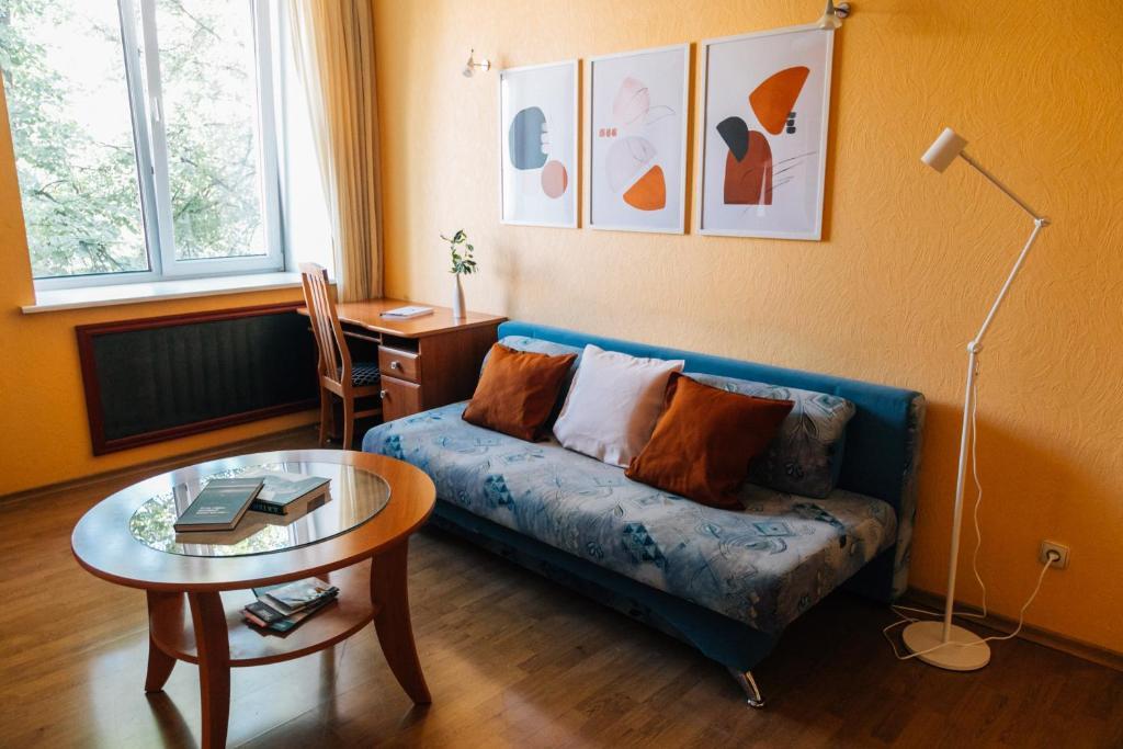 Апартаменты/квартира  Просторные апартаменты в центре на Екатерининской  - отзывы Booking