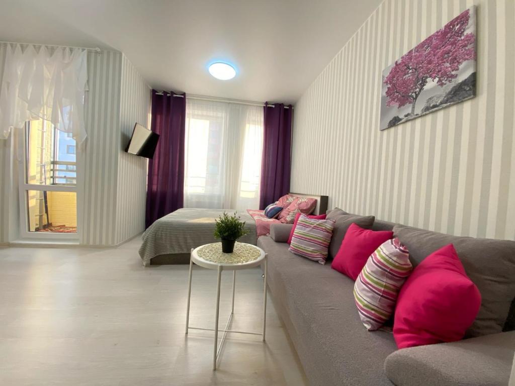 Апартаменты/квартиры Уютные студии - отзывы Booking