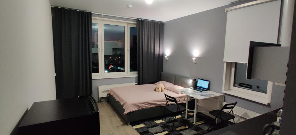 Апартаменты/квартира  Уютная студия в новом доме, в 12 мин от м. Озёрная