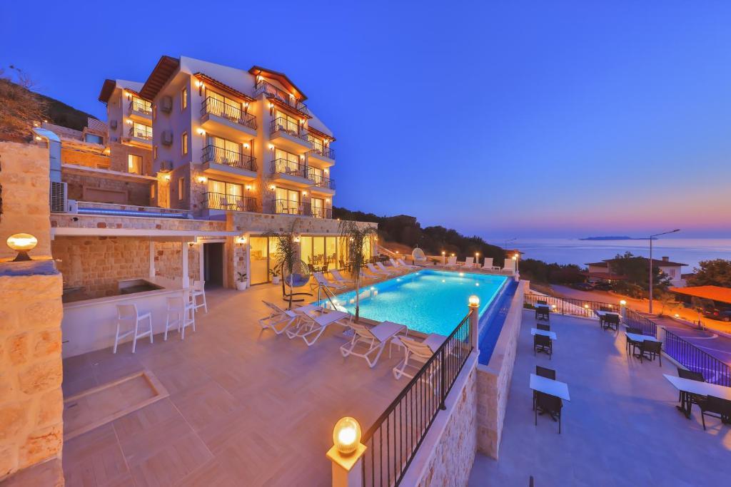 Отель  Kaş Lisiya Hotel  - отзывы Booking