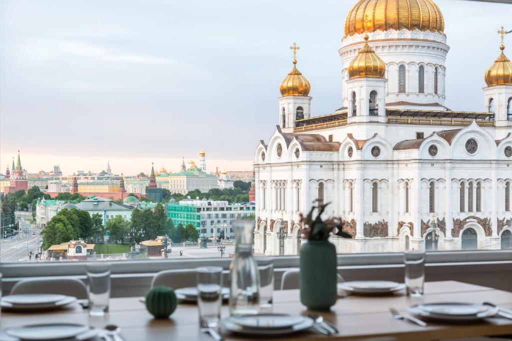 Апартаменты/квартира  Huge penthouse in Moscow center with parking  - отзывы Booking