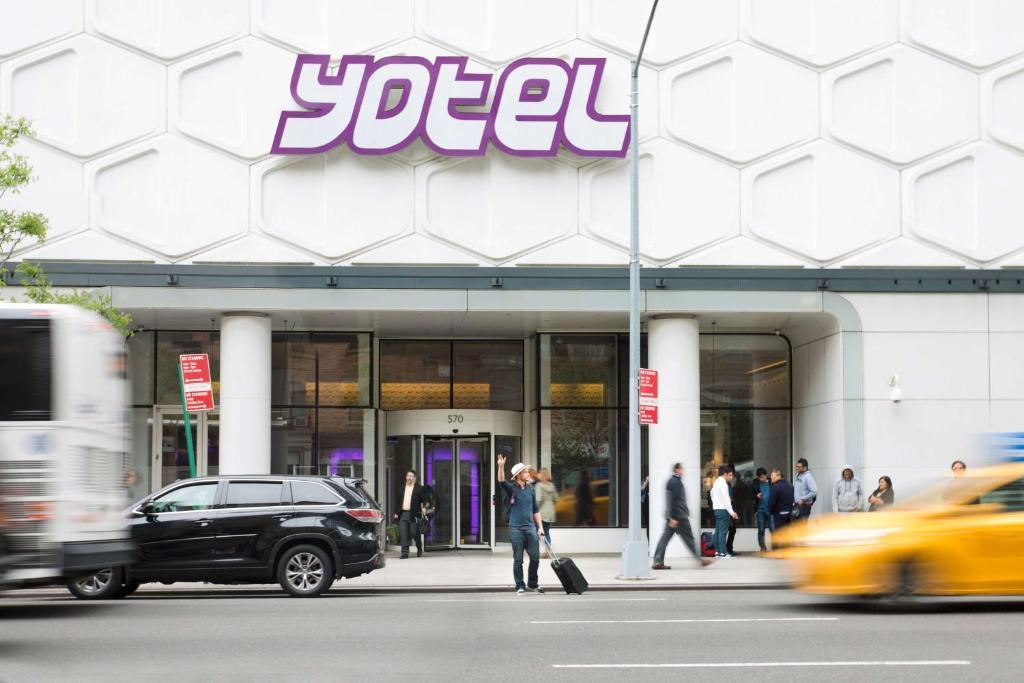 Отель YOTEL New York Times Square - отзывы Booking