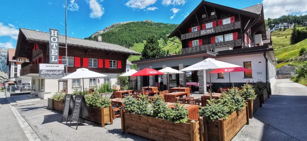 Отель  Hotel Bergidyll
