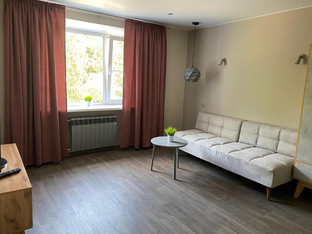Апартаменты/квартира  Современные апартаменты в Пушкине  - отзывы Booking