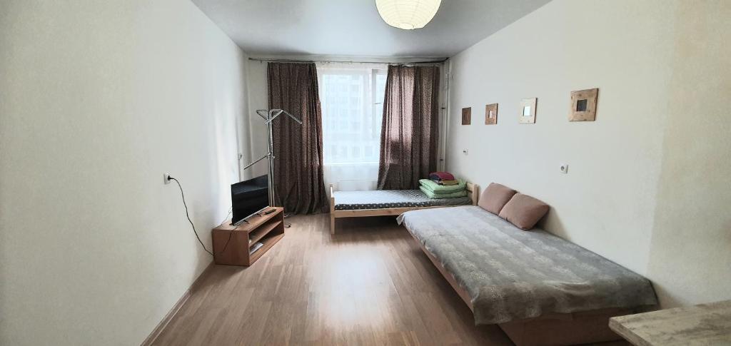 Апартаменты/квартира  Новая двушка студия  - отзывы Booking