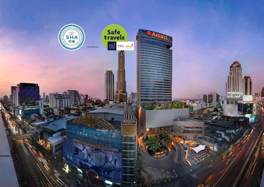 Отель  Amari Watergate Bangkok - SHA Certified  - отзывы Booking