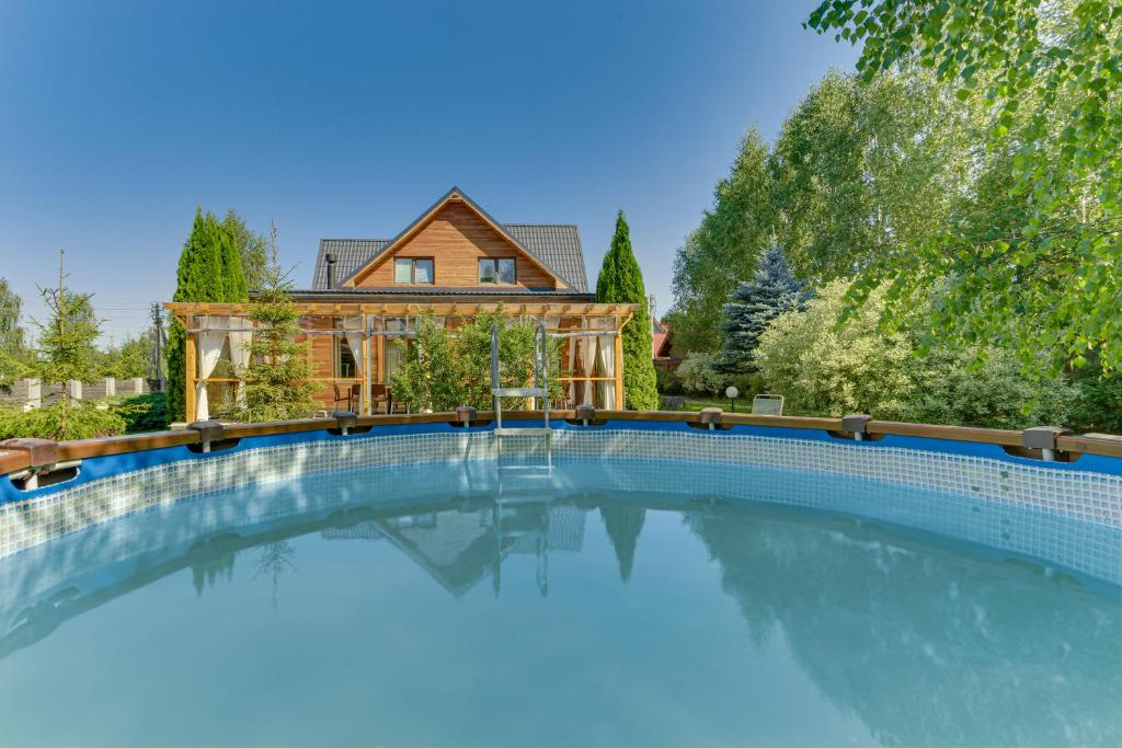 Дом для отпуска Eco-style House With Veranda
