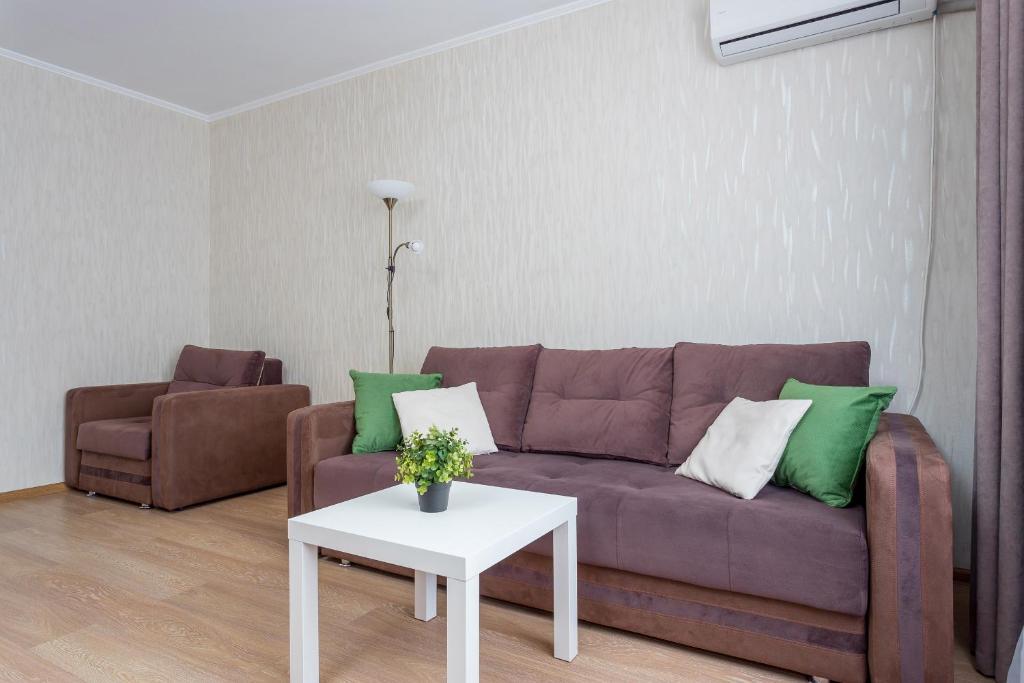Апартаменты/квартира Новая квартира район Сочинской и Красных Партизан - отзывы Booking