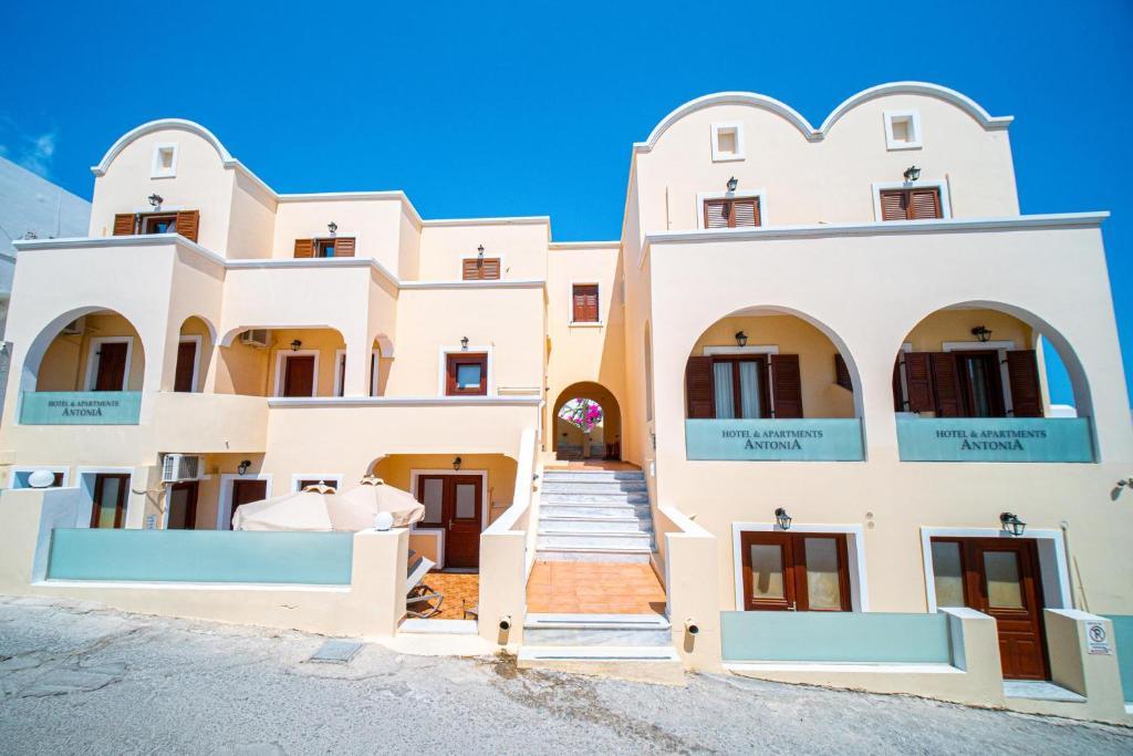 Апарт-отель Antonia Apartments - отзывы Booking