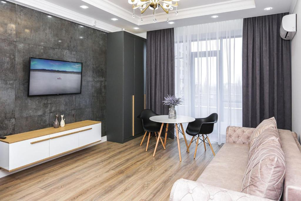 Апартаменты/квартиры  DOUBLE SkyHouse Exclusive Apartments  - отзывы Booking