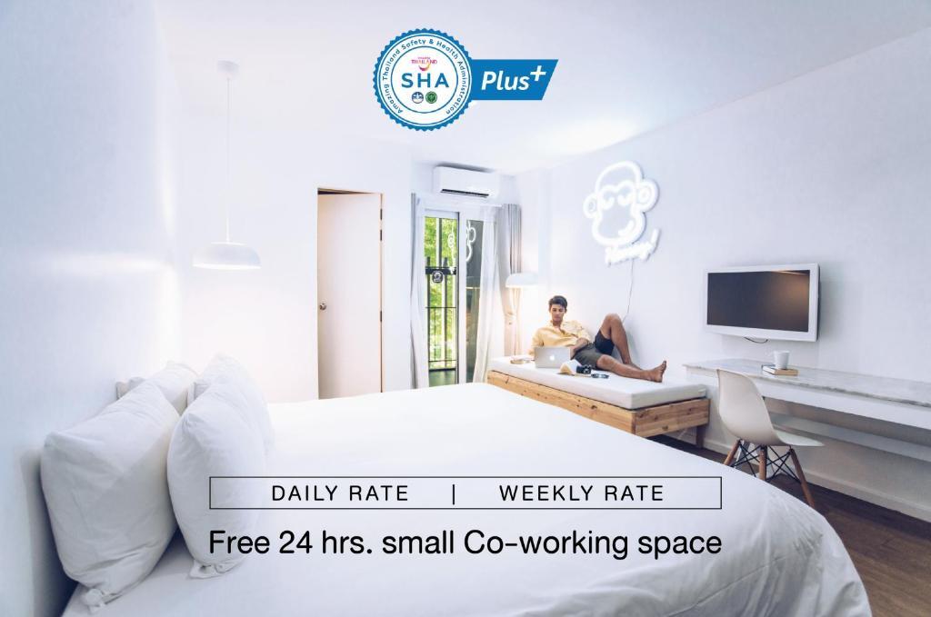 Отель  Blu Monkey Bed & Breakfast Phuket - SHA Plus  - отзывы Booking
