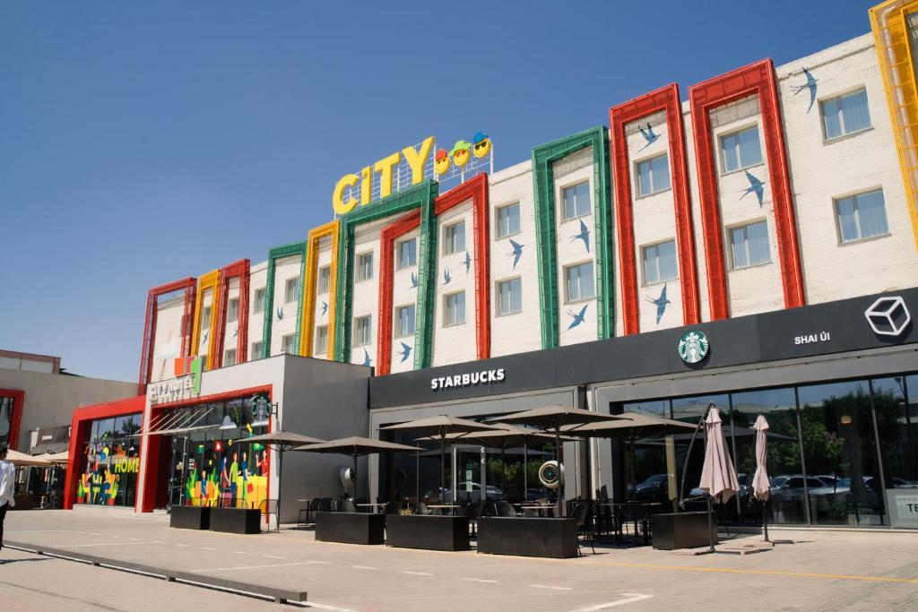 Отель  City Hotel Shymkent  - отзывы Booking