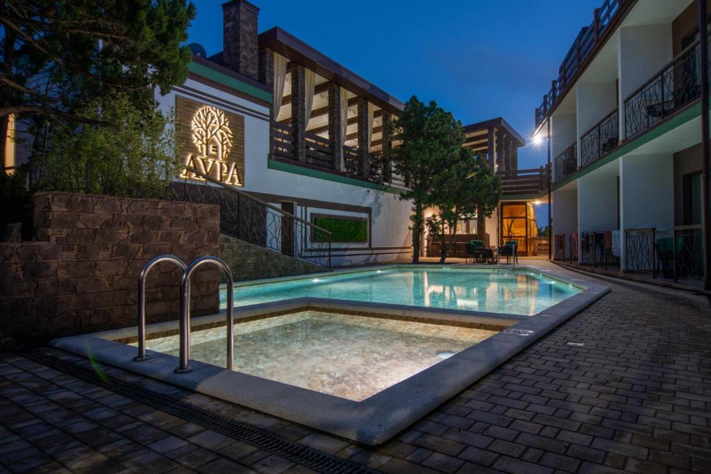 Отель  Aura Hotel  - отзывы Booking