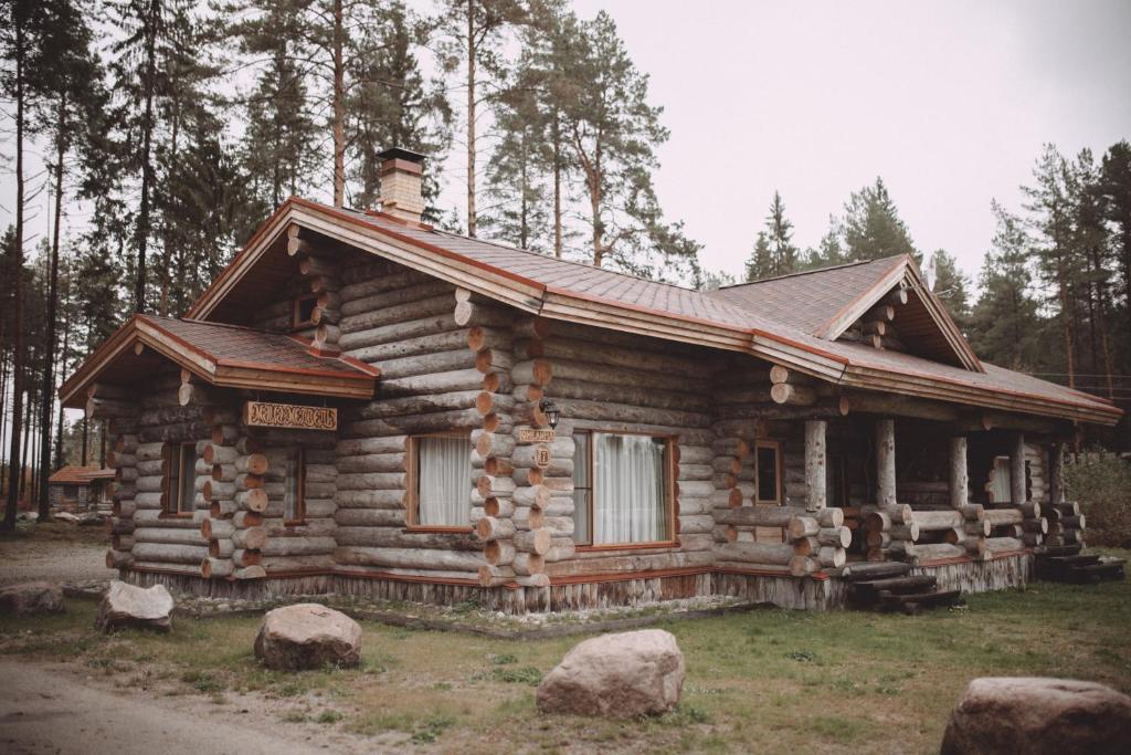 Фото Апартаменты/квартира Карелия коттедж Маша и Медведь