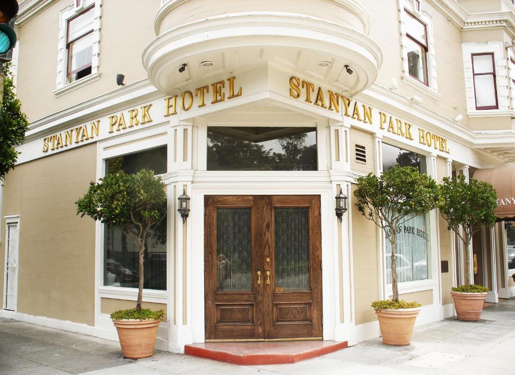 Отель  Отель  Stanyan Park Hotel