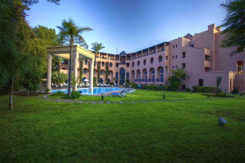 Отель  Hotel Marrakech le Tichka  - отзывы Booking