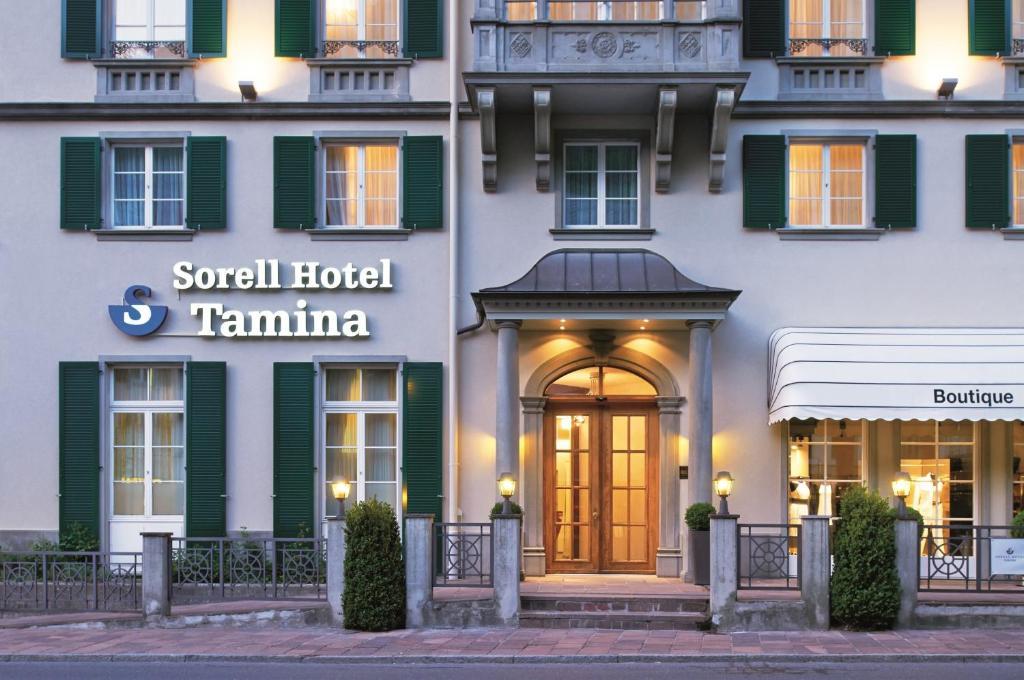 Отель Sorell Hotel Tamina